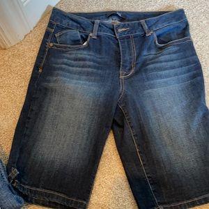Blue Jean shorts size 8